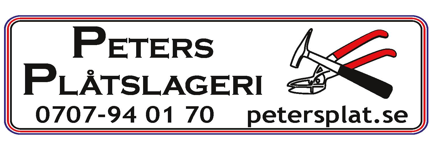 Peters Plåtslageri Logotype